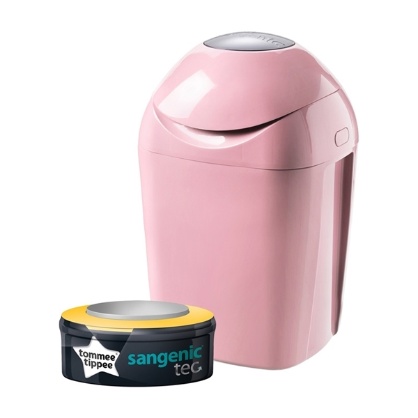 Picture of Tommee Tippee Κάδος Απόρριψης Πάνας Pink