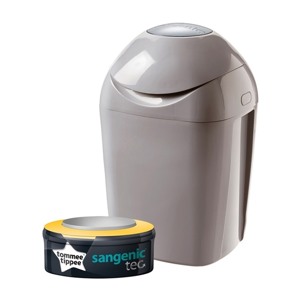 Picture of Tommee Tippee Κάδος Απόρριψης Πάνας Grey