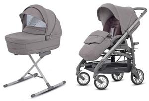 Εικόνα της Inglesina Trilogy Duo System Παιδικό Καρότσι, Sideral Grey