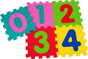 Εικόνα της Vitamina G Παζλ Πατώματος Νούμερα 5τεμ 32x32x1 εκ.