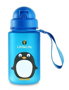 Εικόνα της LittleLife Παγούρι 400 ml με καλαμάκι Penguin