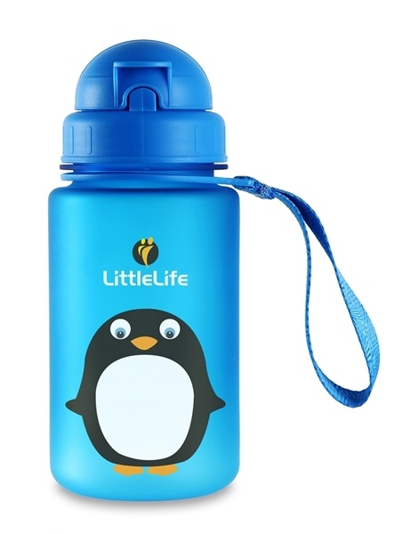 Picture of LittleLife Παγούρι 400 ml με καλαμάκι Penguin