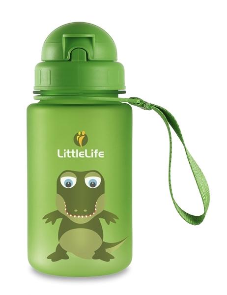 Picture of LittleLife Παγούρι 400 ml με καλαμάκι Dino