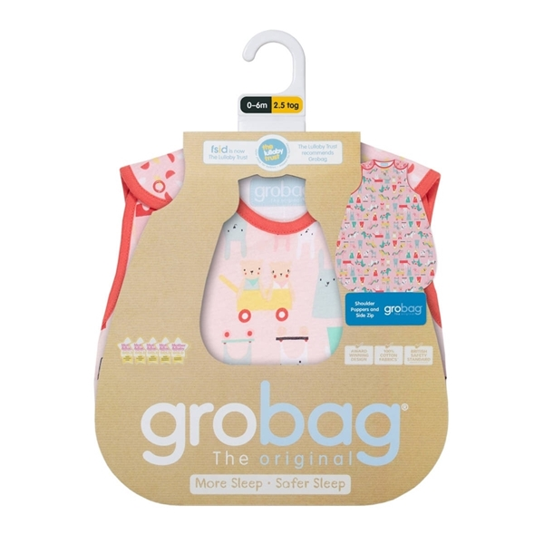 Picture of GroBag Υπνόσακος 2.5 tog 18-36 μηνών Sugar & Spice