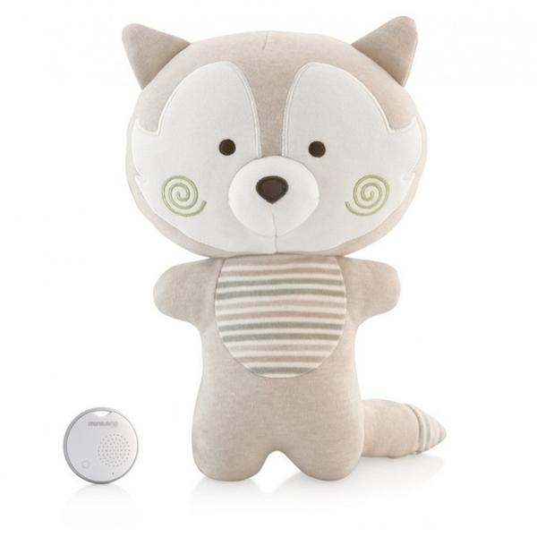 Picture of MiniLand Λούτρινο Be my Buddy Foxy με συσκευή Λευκών Ήχων