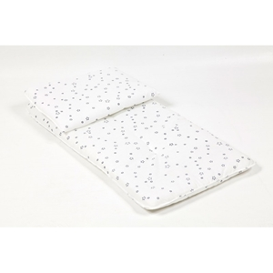 Εικόνα της Poupy Σετ μαξιλάρι και στρώμα καλαθούνας / καροτσιού