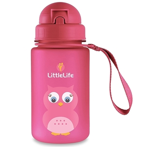 Picture of LittleLife Παγούρι 400 ml με καλαμάκι Owl