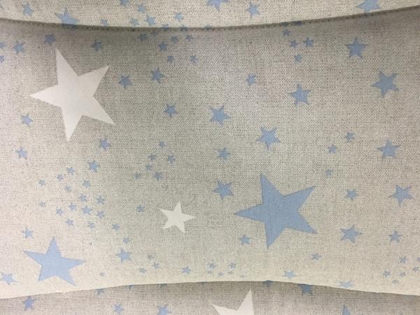 Picture of Ωμέγα Bebe Πάντα Κούνιας Διπλής Όψης Blue-White Stars