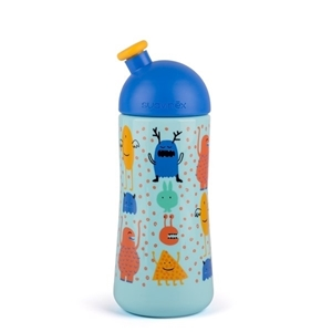Εικόνα της Suavinex παγουράκι 360 ml Collection Sporty Spout Booo! Blue 12M+