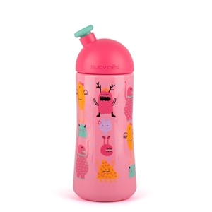 Εικόνα της Suavinex παγουράκι 360 ml Collection Sporty Spout Booo! Pink 12M+