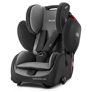 Εικόνα της Recaro Young Sport Hero, Carbon Black 9-36kg.