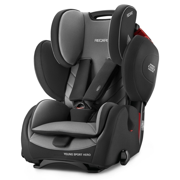 Picture of Recaro Young Sport Hero, Carbon Black 9-36kg.