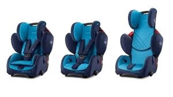Picture of Recaro Young Sport Hero, Xenon Blue 9-36kg.