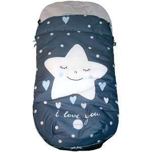 Εικόνα της PekeBaby Ποδόσακος Καροτσιού Stars Blue
