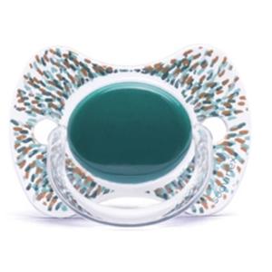 Εικόνα της Suavinex Fusion Πιπίλα Σιλικόνης Haute Couture Green 12Μ+