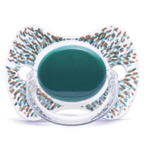 Picture of Suavinex Fusion Πιπίλα Σιλικόνης Haute Couture Green 12Μ+