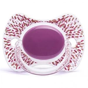 Εικόνα της Suavinex Fusion Πιπίλα Σιλικόνης Haute Couture Purple 12Μ+