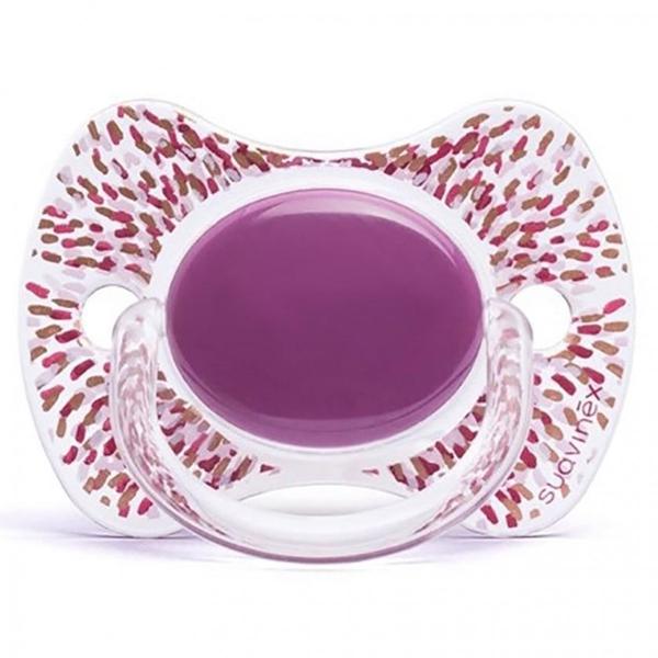 Picture of Suavinex Fusion Πιπίλα Σιλικόνης Haute Couture Purple 12Μ+