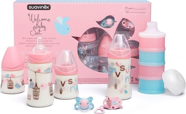 Picture of Suavinex Σετ Δώρου - Welcome Baby Set Pink