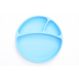 Εικόνα της MinikOiOi Δίσκος Σιλικόνης με Βεντούζα - Γαλάζιο