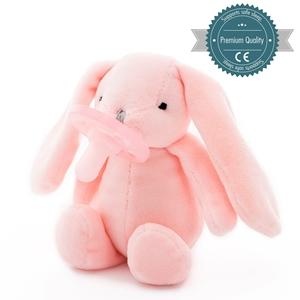 Εικόνα της MinikOiOi Λούτρινο με Πιπίλα - Pink Sleep Buddy