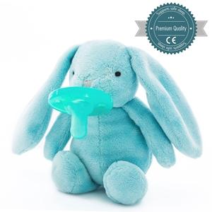 Εικόνα της MinikOiOi Λούτρινο με Πιπίλα - Blue Sleep Buddy