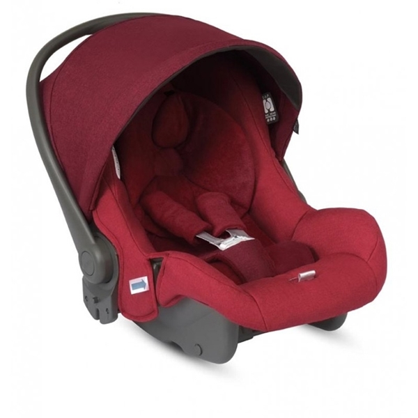 Picture of Inglesina Κάθισμα Αυτοκινήτου Huggy MultiFix 0+, Ruby Red