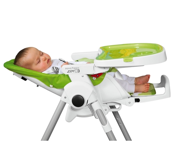 Picture of Peg Perego Κάθισμα Φαγητού Prima Pappa Zero 3, Mon Amour Leather + ΔΩΡΟ μπάρα παιχνιδιών