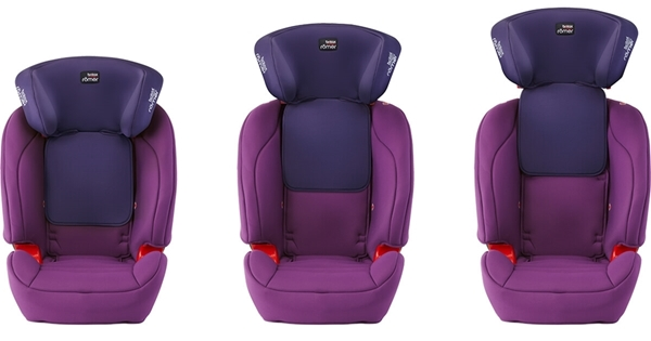 Picture of Britax Κάθισμα Αυτοκινήτου Evolva 1-2-3 SL Sict 9-36kg Storm Grey