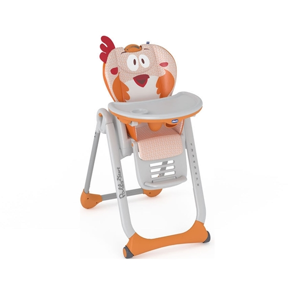 Picture of Chicco Κάθισμα Φαγητού Polly 2 Start, Fancy Chicken