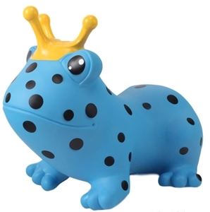 Picture of Gerardo's Toys Φουσκωτό Χοπ Χοπ, Blue Frog