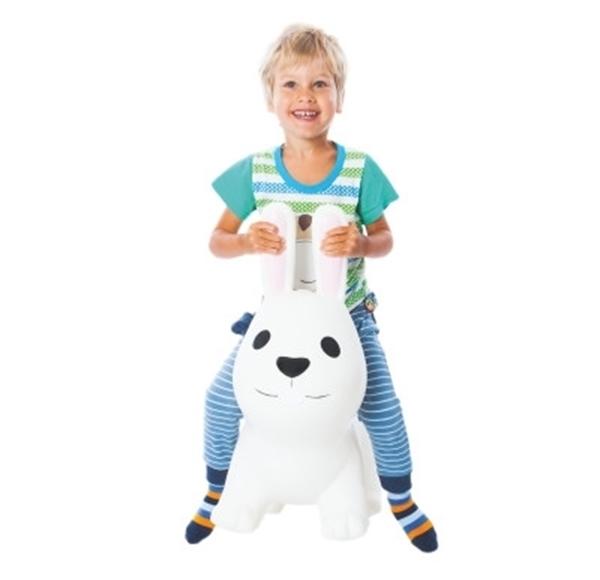 Picture of Gerardos Toys Φουσκωτό Χοπ Χοπ, White Rabbit