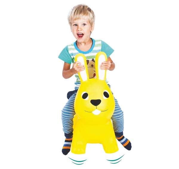 Picture of Gerardo's Toys Φουσκωτό Χοπ Χοπ, Yellow Bunny