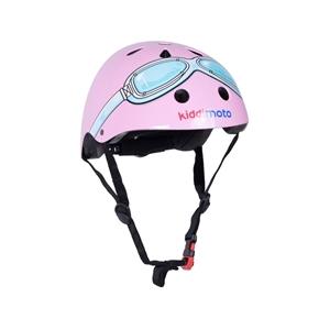 Εικόνα της KiddiMoto Κράνος Pink Goggle Small