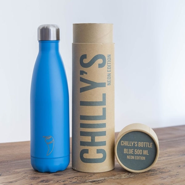 Picture of Chillys Θερμός Για Υγρά Neon Blue 500ml.