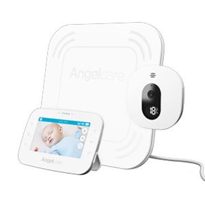 """Εικόνα της Angelcare AC315 Συσκευή Ανίχνευσης Αναπνοής, Αμφίδρομη Ενδοεπικοινωνία με Κάμερα & Οθόνη 4,3"""""""