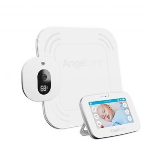 Εικόνα της Angelcare AC417 Συσκευή Ανίχνευσης Αναπνοής με Ασύρματο Αισθητήρα Κίνησης, Αμφίδρομη Ενδοεπικοινωνία με Κάμερα & Οθόνη 4,3