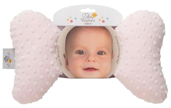 Picture of Baby Elephant Ears Μαξιλαράκι Στήριξης - Pink Minky