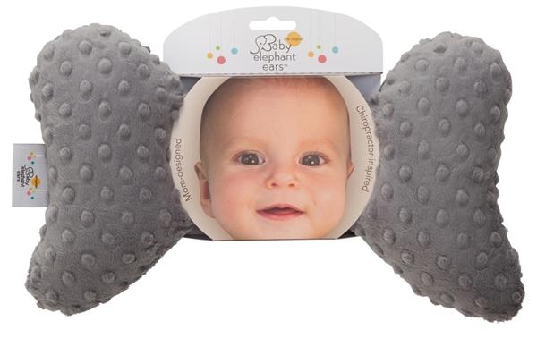 Picture of Baby Elephant Ears Μαξιλαράκι Στήριξης - Grey Minky