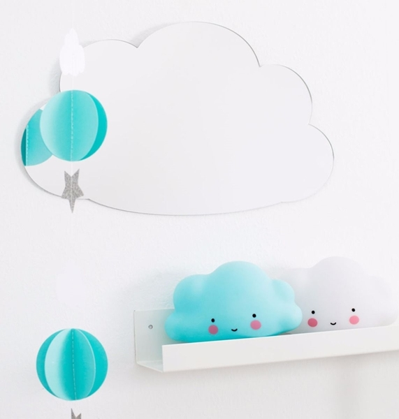 Picture of Φωτάκι Νυκτός Mini Cloud Light Blue