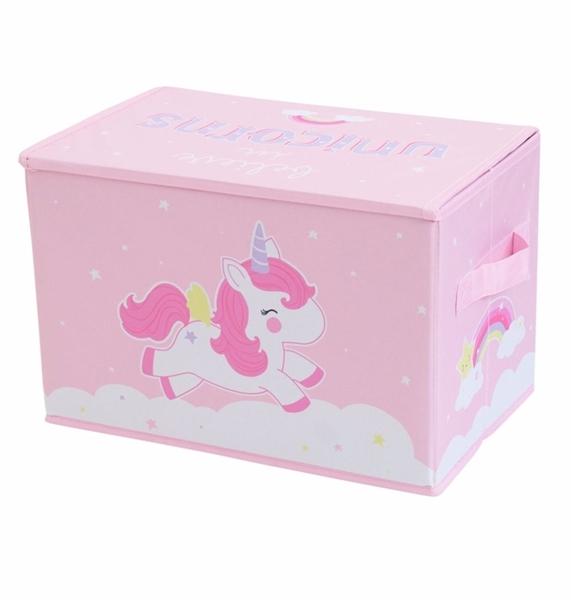 Picture of A Little Lovely Company Κουτί Αποθήκευσης Unicorns