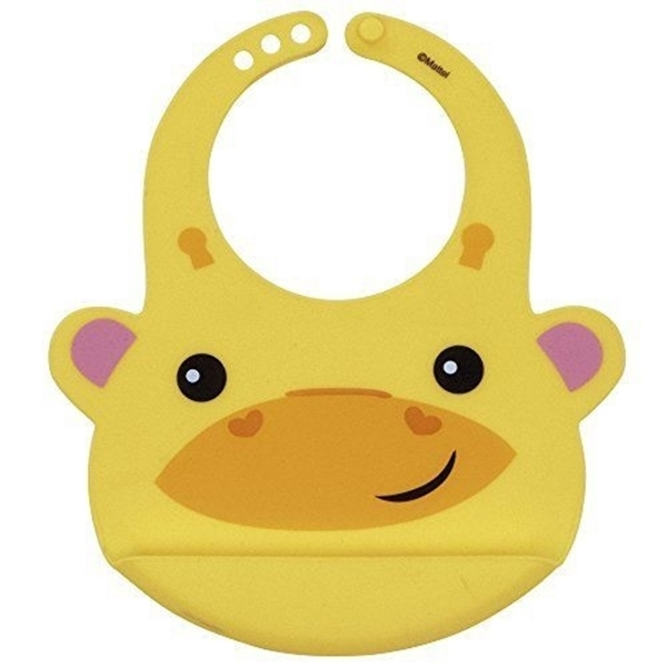 Picture of Fisher Price Σαλιάρα Σιλικόνης Yellow Giraffa