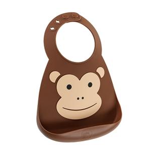 Εικόνα της Make my Day Σαλιάρα Σιλικόνης Monkey
