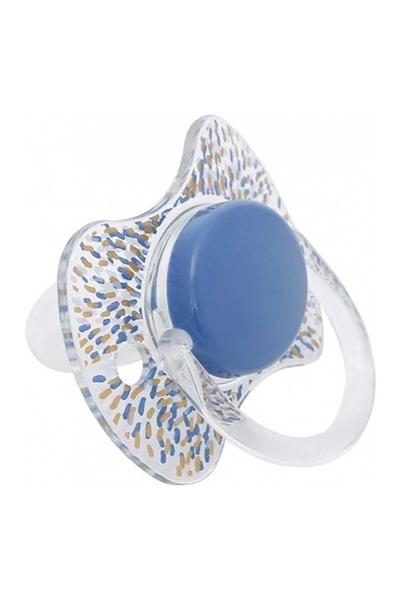 Picture of Suavinex Fusion Πιπίλα Σιλικόνης Haute Couture Μπλε 4Μ+
