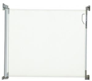 Εικόνα της DreamBaby Αφαιρούμενη Πόρτα Ασφαλείας Retractable Gate White