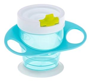 Εικόνα της Brother Max Easy Hold Sippy Cup – Εκπαιδευτικό Ποτηράκι 4 σε 1 Blue