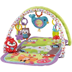 Picture of Fisher Price Παπλωμα-γυμναστηριο 3 σε 1 Ζωάκια του Δάσους