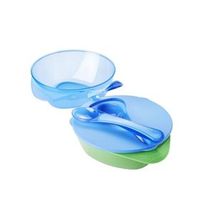 Εικόνα της Tommee Tippee Easy Scoop Weaning Bowl Σετ - 2 τεμ. Μπωλ Απογαλακτισμού Γαλάζιο