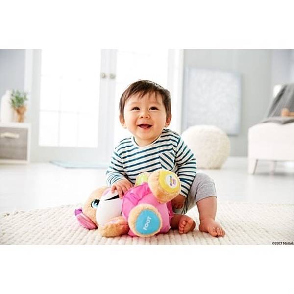 Picture of Fisher Price Laugh & Learn Εκπαιδευτικό Ροζ Σκυλάκι Smart Stages
