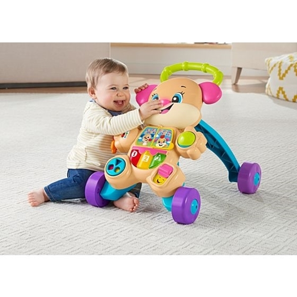 Picture of Fisher Price Laugh & Learn Εκπαιδευτική Στράτα Σκυλάκι Smart Stages Ροζ
